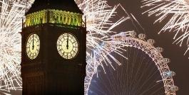 تصاویری بی نظیر و باشکوه از جشن و پایکوبی مردم لندن هنگام جشن کریسمس/اختصاصی تی وی پلاس