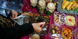 با تماشای این ویدیو چند کیلو چاق می شوید /تمام ذائقه های ایرانی در یک بازارچه خیریه به نفع بیماران مبتلا به ام اس/