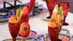 آموزش نودل با حضور آقای یزدان دوست در بخش آشپزی