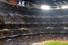 حمایت و تشویق شدید زیدان توسط هواداران رئال مادرید