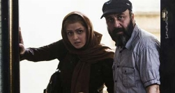 تصاویری از پشت صحنه فیلم استراحت مطلق با بازی رضا عطاران و ترانه علیدوستی