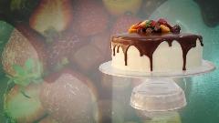 آموزش پخت یک کیک تولد زیبا و خوشمزه |  آشپزخانه تی وی پلاس تقدیم می کند