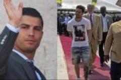 تفاوت لباس پوشیدن رونالدو و مسی در سفرهای رسمی