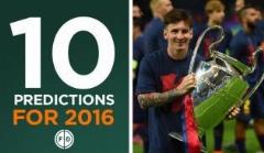 10 پیش بینی جذاب برای سال 2016