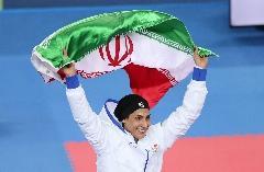 گفتگو با دختری که بی سروصدا برای ایران طلا می آورد