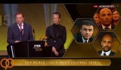 بهترین های فوتبال 2015/ انریکه مربی سال فوتبال مردان