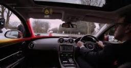 سرعت خیره کننده واکنش راننده در هنگام حادثه