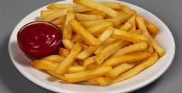 سیب زمینی سرخ کرده را به سالم ترین روش تهیه کنید/ راز تهیه فرنج فرایز با یک قاشق غذا خوری روغن