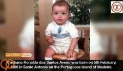 کریس رونالدو از کودکی تا بزرگسالی /بسیار دیدنی