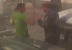 سیلی پلیس بحرین به صورت پدری مقابل چشمان کودکش