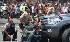 انفجارهای مهیب کنار گوش کاخ ریاست جمهوری اندونزی!
