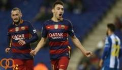 خلاصه بازی اسپانیول 0-2 بارسلونا