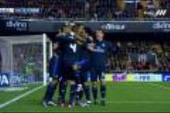 سوپر گل تیمی رئال به والنسیا روی حرکت مثلث bbc