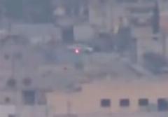 راننده زیرک از موشک هدایت شونده به سمت خود گریخت/ دیدنی