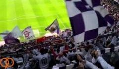 تشویق رئال مادرید توسط هواداران از زاویه ای متفاوت