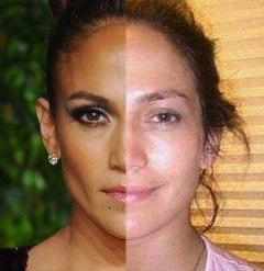 ستاره های زن هالیوودی و اثبات زیبایی چهره خود بدون گریم (عکس)
