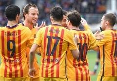 خلاصه بازی ایبار 0-4 بارسلونا