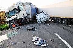 سرعت بالای کامیون و تصادفی مرگبار