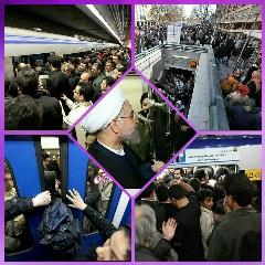 عکس هایی که ثابت می کند متروی تهران یک هتل 5 ستاره است! وقتی آقای رئیس جمهور به ملاقات غول مجازات کننده می رود؛ چهره برجسته ترین شخصیت های والت دیزنی در حجاب؛ «زُل» تقدیم می کند
