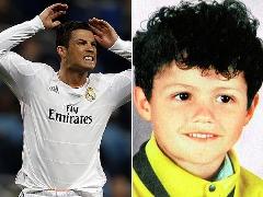 مقایسه چهره ستارگان فوتبال با دوران نوجوانی
