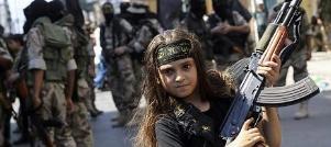 اعدام پنج زن به دست دختر بچه داعشی در عراق!!!