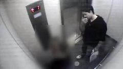تعرض وحشیانه به زن جوان در آسانسور