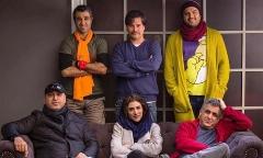 پیمان قاسم خانی و پژمان جمشیدی یک سینما را روی سرشان گذاشتند!/کل کل های بامزه کمدین ها در شب دورهمی ستاره ها به بهانه اکران پنجاه کیلو آلبالو