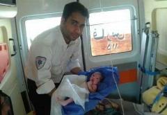 نجات معجزه آسای مادر باردار 19 ساله؛ زایمان در بدترین شرایط!