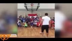 هدف گیری بسکتبالی فوق العاده فالکائو فوتسالیست