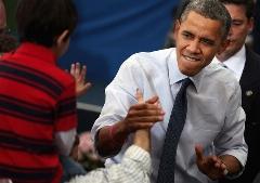 فیلمی از هنرنمایی آقای رئیس جمهور در مهمانی شبانهی کاخ سفید