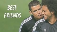 رفاقت و دوستی جالب بازیکنان بزرگ در زمین فوتبال