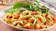 تهیه پاستا پنیری لذیذ و خوشمزه در سه سوت! آشپزخانه تی وی پلاس تقدیم می کند