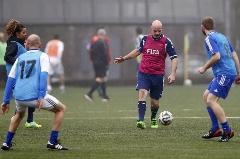 حواشی بازی دوستانه رییس جدید فیفا با ستارگان فوتبال