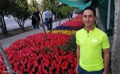 پسری که به خاطر عشق دیوانه وارش،  تهران را گلباران کرد