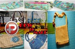خلاقیت های ساده؛ با لباسهای قدیمیتان، کیف های بامزه بسازید
