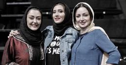 مسابقه و کل کل دابسمش بازیگران زن با صدای جواد خیابانی در خندوانه رامبد جوان!/ویدیویی که حسابی می خندید