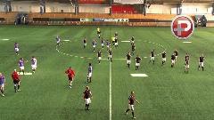 فوتبال تیم 22 نفره برابر تیم 11 نفره حرفه ای؛ به نظر شما برنده کدام تیم است؟