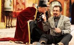 زلزله ای که سیامک انصاری را از اعدام نجات داد/سکانسی خنده دار از سریال قهوه تلخ