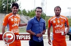 سورپرایز بزرگ علی کریمی، در تمرین تیم پرسپولیس+ویدیو