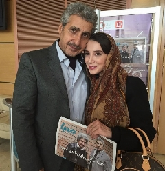 حضور سحر جعفری جوزانی در شبکه ماهواره ای، به همراه خواننده لس آنجلسی؛ سکانسی باحال از مجموعه بمب خنده مهران مدیری