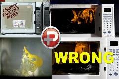 این 13 تا چیز را نباید داخل مایکروویو گذاشت مگر اینکه بخواهید آشپزخانه را به آتش بکشید