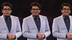واکنش فرزاد حسنی به اضافه وزن خانم بازیگر روی آنتن زنده + ویدیو