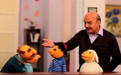 وقتی ژیلت در گلوی یکی از رفقای کلاه قرمزی و آقای همساده گیر می کند/سکانسی زیبا از محبوب ترین عروسک های تلویزیون ایران