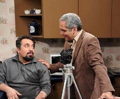 صحنه هایی بامزه از تست بازیگری مهران مدیری و سیامک انصاری