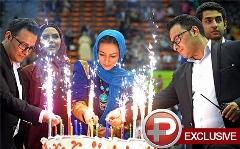 این دو روحانی، خاص ترین مهمانان جشن دوازده هزار نفری خانم بازیگر شدند/وقتی هر کس، زیراکس خودش را رو کرد/گزارشی از بزرگترین جشن دوقلوهای ایران