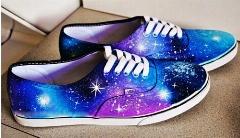 کفش های کهکشانی؛ خودتان کفش هایتان را طراحی کنید؛ آموزش مرحله به مرحله