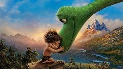 وقتی یک دایناسور همراه یک بچه میوه های توهم زا می خورند !/سکانسی زیبا از انیمیشن دایناسور خوب