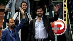 شهاب حسینی و ترانه علیدوستی این بار در نقش بُمب!/ یک فرودگاه بعد از ورود بهترین بازیگر دنیا به کشورش منفجر شد/بُهت اصغر فرهادی از استقبال باورنکردنی مردم/مفاخر سینمای ایران سورپرایز شدند