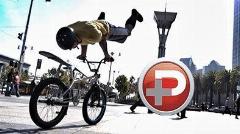بعد از  دیدن این ویدیو خواهید فهمید تلفیق پارکور و دوچرخه چه معجونی خواهد شد