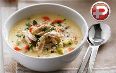 اگر این سوپ را یک بار امتحان کنید، هر هفته درست می کنید؛ آموزش تهیه سوپ مرغ و خامه با طعمی منحصربفرد